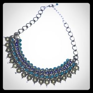 Jewelry - Necklace With Large Beaded Detail